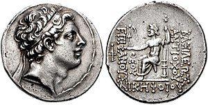 Antiochos Epiphanes IV
